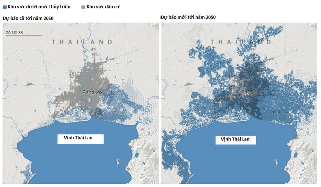 Nghiên cứu cảnh báo nguy cơ phía Nam Việt Nam ngập dưới nước vào năm 2050 - 2