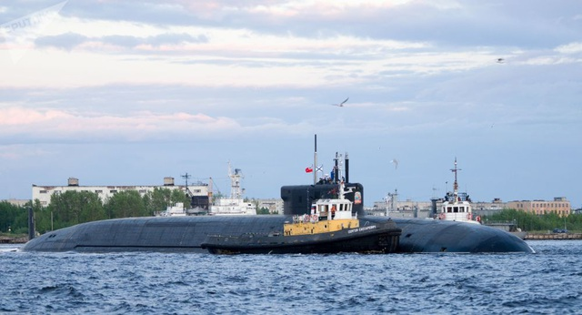 """Video tàu ngầm """"sát thủ"""" Nga lần đầu phóng siêu tên lửa  - 1"""