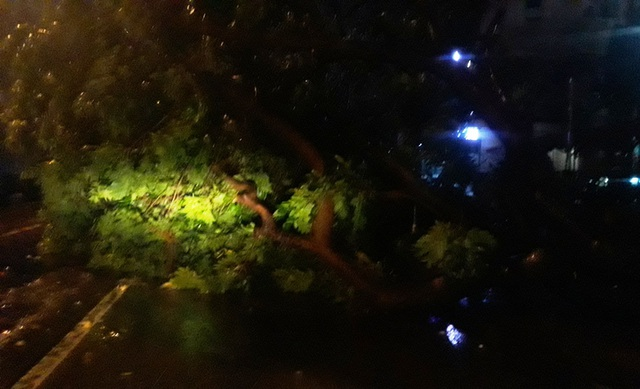 Miền Trung mưa lớn xối xả, mất điện diện rộng nhiều nơi - 12