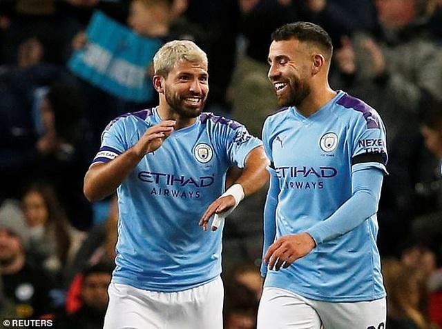 Aguero lập cú đúp, Man City dễ dàng hạ gục Southampton - 1