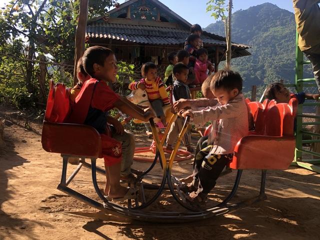Xót xa cảnh cô trò điểm trường Mầm non sát biên giới Việt - Lào - 9