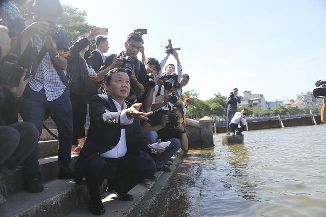 Bộ trưởng Trần Hồng Hà nói gì về công nghệ xử lý nước ô nhiễm của Nhật Bản? - 3