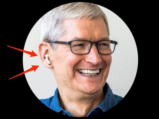 CEO Apple bị chế giễu vì sử dụng ảnh Photoshop để khoe tai nghe AirPods - 1