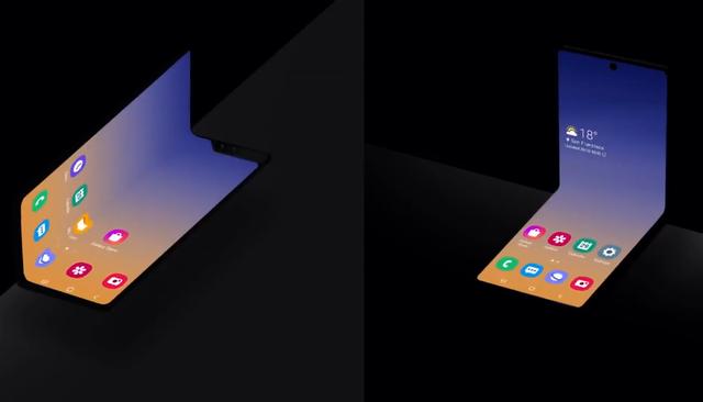Samsung tung video hé lộ thiết kế mới của Galaxy Fold 2 - 1