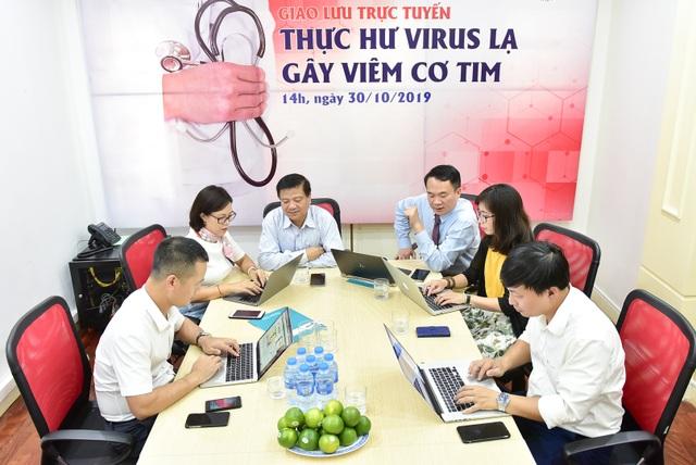Giao lưu trực tuyến: Thực hư virus lạ gây viêm cơ tim - 5