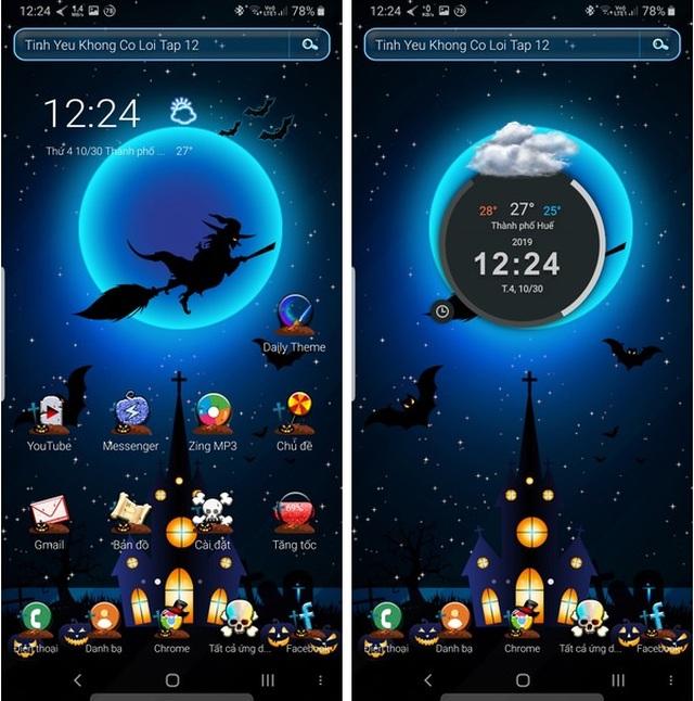 """Bộ giao diện thú vị giúp """"hóa trang"""" cho smartphone để đón Halloween - 1"""