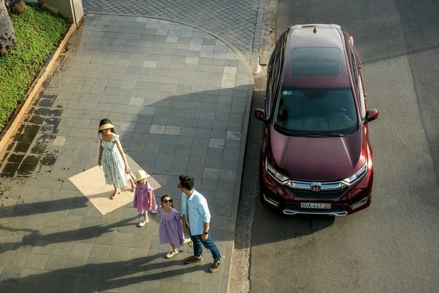 """Những """"điểm nhấn"""" nâng tầm đẳng cấp trên Honda CR-V - 1"""