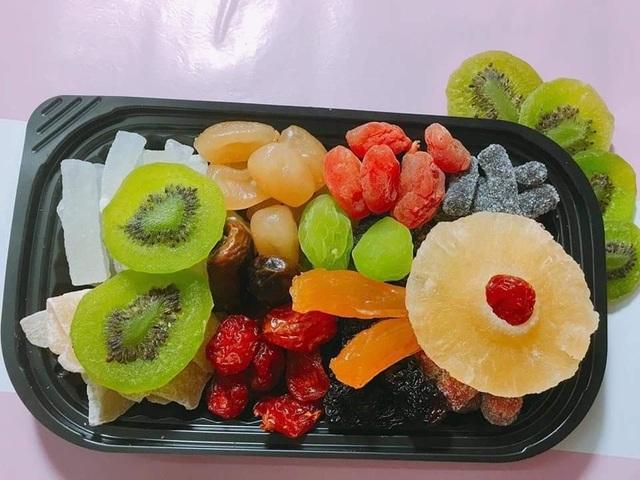 Mứt Tết trái cây bảy sắc cầu vồng, giật mình hàng cao cấp 35 ngàn đồng/kg - 2