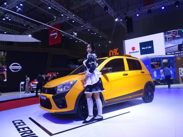 """Suzuki Celerio """"lột xác ấn tượng"""" tại Triển lãm Ô tô Việt Nam 2019 - 2"""