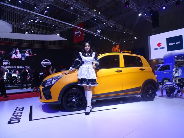 """Suzuki Celerio """"lột xác ấn tượng"""" tại Triển lãm Ô tô Việt Nam 2019 - 3"""