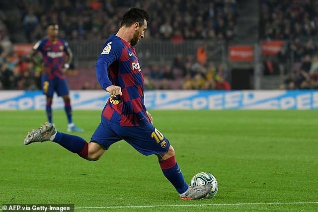 """Messi rực sáng, Barcelona đại thắng """"5 sao"""" và trở lại ngôi đầu La Liga - 9"""