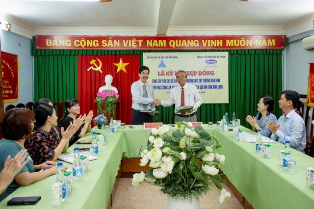 70.000 trẻ em tỉnh Vĩnh Long được thụ hưởng chương trình Sữa học đường - 1