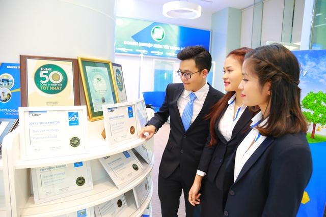 Tổng doanh thu phí bảo hiểm của Bảo Việt dẫn đầu thị trường bảo hiểm nhân thọ và phi nhân thọ - 1