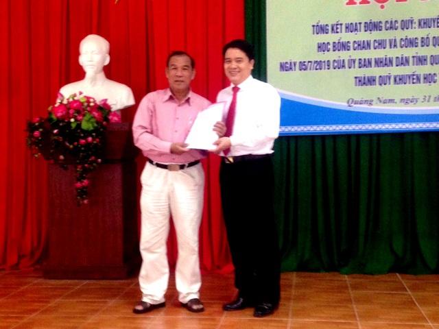 Công bố quyết định thành lập Quỹ Khuyến học tỉnh Quảng Nam