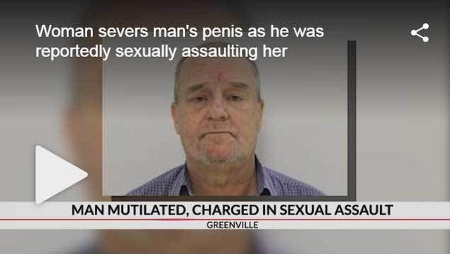 Bị cưỡng hiếp, nạn nhân cắn đứt