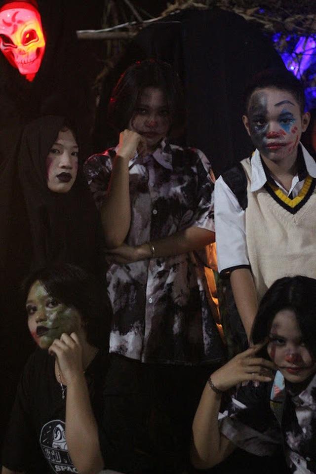 Hơn 5.000 bạn trẻ Ninh Thuận phấn khích trong lễ hội Halloween - 6