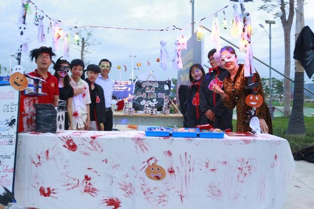 Hơn 5.000 bạn trẻ Ninh Thuận phấn khích trong lễ hội Halloween - 3