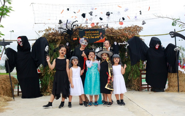 Hơn 5.000 bạn trẻ Ninh Thuận phấn khích trong lễ hội Halloween - 2
