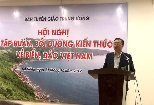 Gần 300 nhà báo dự tập huấn bồi dưỡng kiến thức về biển, đảo Việt Nam - 1