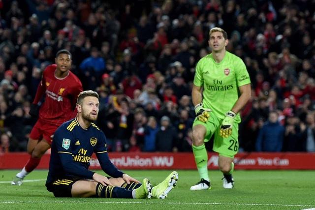 Liverpool 5-5 Arsenal (penalty 5-4): Mưa bàn thắng ở Anfield - 2