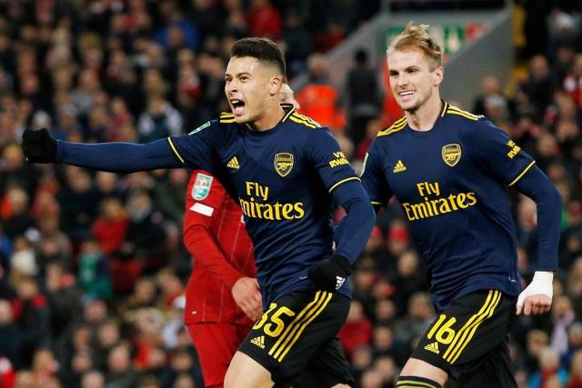 Liverpool 5-5 Arsenal (penalty 5-4): Mưa bàn thắng ở Anfield - 3