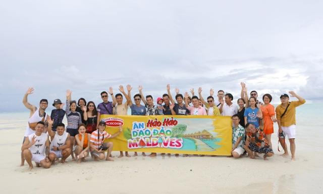"""Ăn Hảo Hảo, dạo đảo Maldives"""" – món quà mùa hè rực nắng và sôi động từ Acecook Việt Nam - 2"""