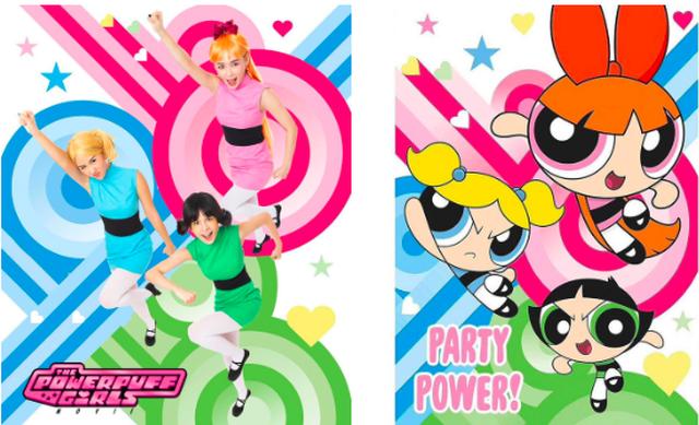 Bộ 3 hot girl hoá trang siêu nhân chơi Halloween - 1