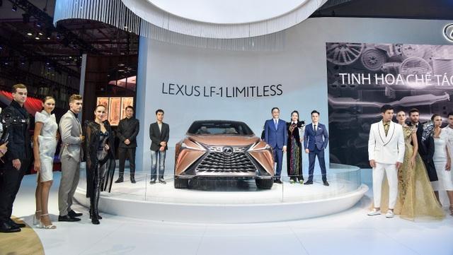 Xướng tên gian hàng đặc biệt tại VMS 2019: Lexus Experience Amazing - 1