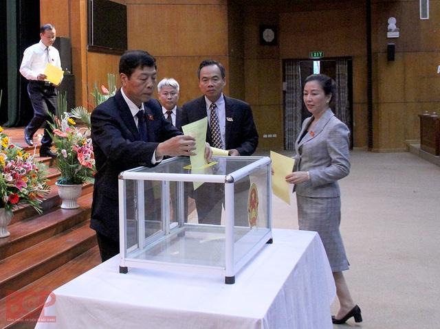 Ông Dương Văn Thái được bầu làm Chủ tịch UBND tỉnh Bắc Giang - 1