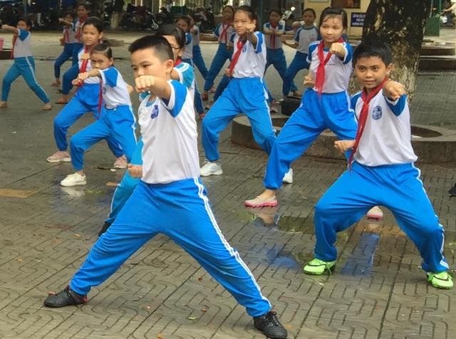 Quảng Ngãi: Học sinh hứng thú với giờ học võ cổ truyền - 2