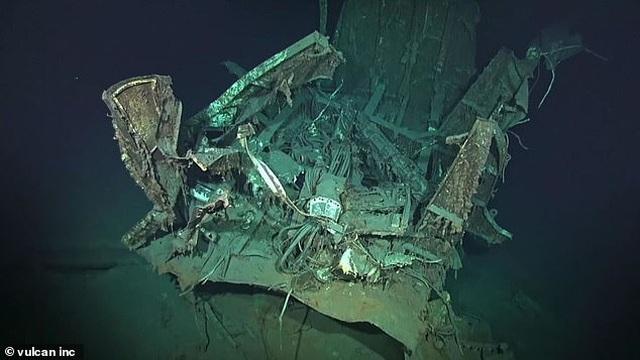 Tìm thấy xác tàu chiến Mỹ ở độ sâu hơn 6.000 mét dưới đáy biển - 1