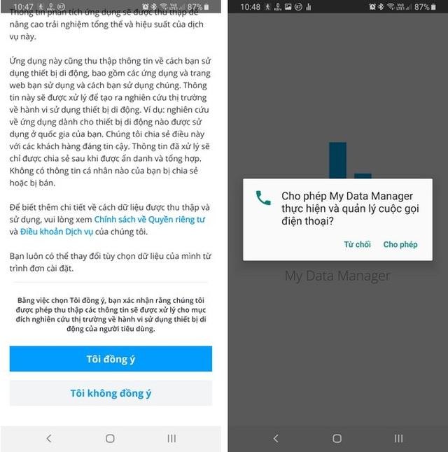 Ứng dụng quản lý chi tiết dung lượng mạng 4G đã sử dụng trên smartphone - 1