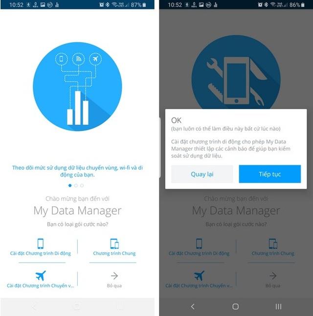Ứng dụng quản lý chi tiết dung lượng mạng 4G đã sử dụng trên smartphone - 2