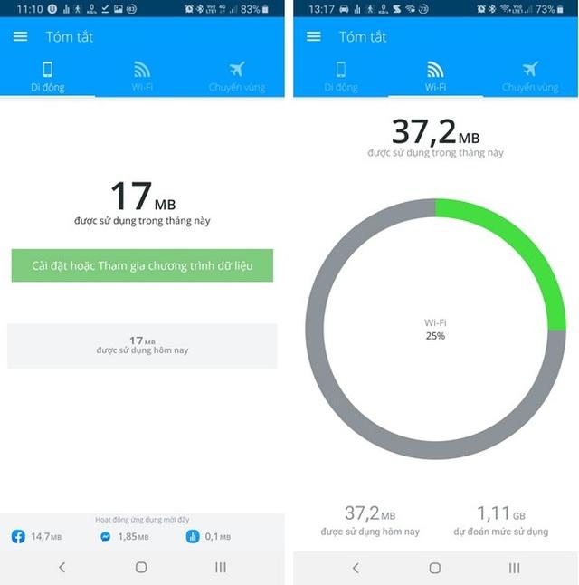 Ứng dụng quản lý chi tiết dung lượng mạng 4G đã sử dụng trên smartphone - 6