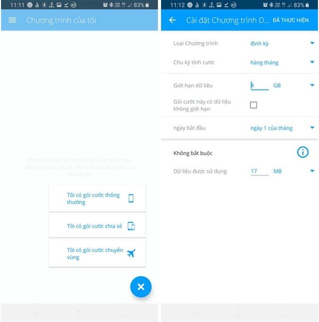 Ứng dụng quản lý chi tiết dung lượng mạng 4G đã sử dụng trên smartphone - 8