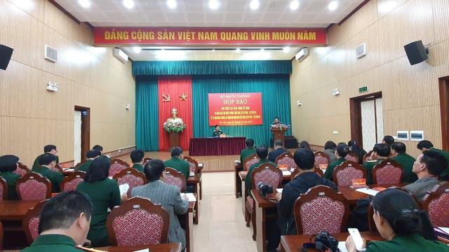 Họp báo thông tin kỷ niệm Ngày hội Quốc phòng toàn dân và Ngày thành lập QĐND Việt Nam - 2