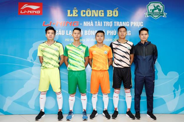 Li-Ning và mong muốn ươm mầm tài năng bóng đá trẻ Việt Nam - 2