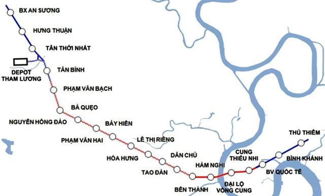 Tuyến Metro số 2 TPHCM: 10 năm chật vật, đội vốn gấp 2 vẫn chưa thể bắt đầu - 1