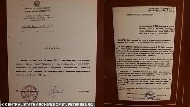 Nga giải mật hồ sơ điệp viên của ông Putin - 2