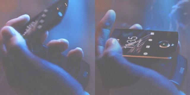 Lộ ảnh smartphone màn hình gập của Motorola với thiết kế huyền thoại - 2