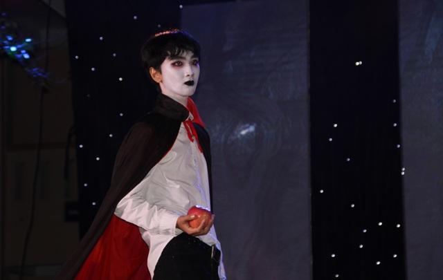 Hóa trang Halloween ấn tượng của học sinh thành Vinh trong lễ hội tiếng Anh - 12