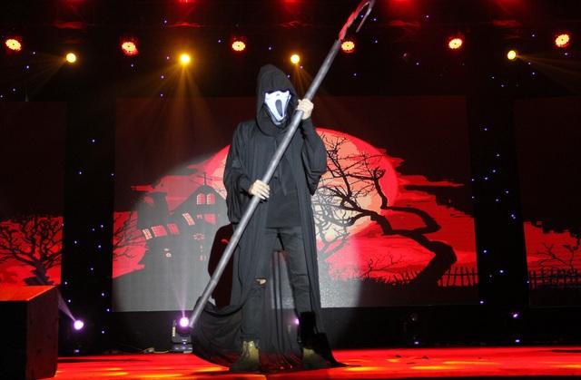 Hóa trang Halloween ấn tượng của học sinh thành Vinh trong lễ hội tiếng Anh - 11