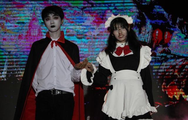 Hóa trang Halloween ấn tượng của học sinh thành Vinh trong lễ hội tiếng Anh - 6