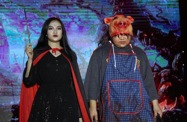 Hóa trang Halloween ấn tượng của học sinh thành Vinh trong lễ hội tiếng Anh - 9