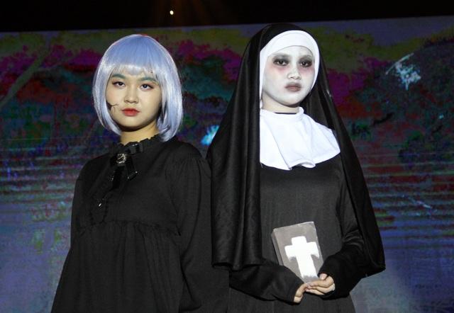 Hóa trang Halloween ấn tượng của học sinh thành Vinh trong lễ hội tiếng Anh - 10
