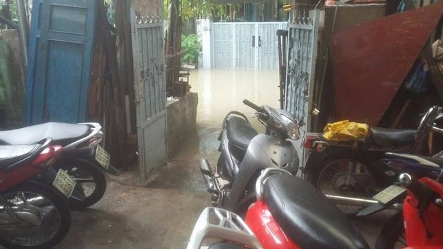 Nhiều tuyến đường ở Đà Nẵng ngập nặng sau trận mưa đêm - 2