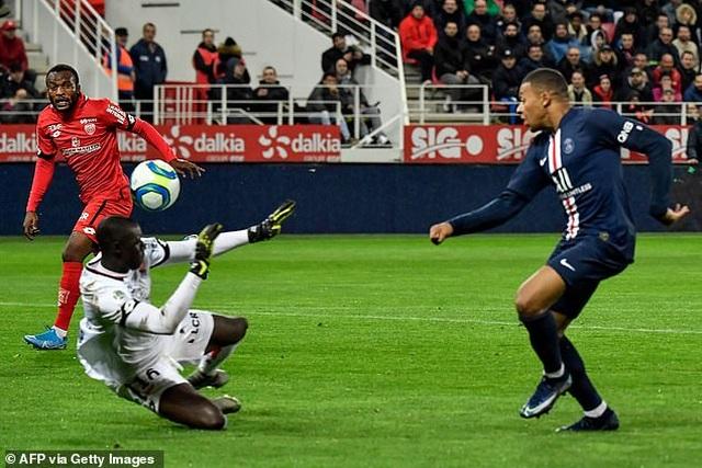 Mbappe ghi bàn, PSG vẫn nhận thất bại cay đắng trước đội cuối bảng Dijon - 2