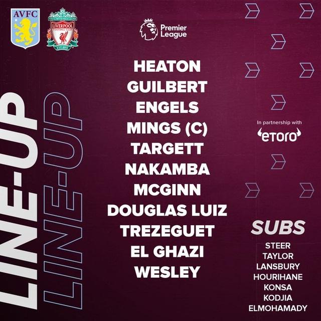 Aston Villa 1-2 Liverpool: Cú lội ngược dòng bất ngờ - 4