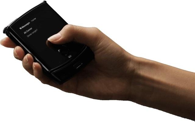 Xuất hiện thêm loạt ảnh chi tiết và rõ nét smartphone màn hình gập của Motorola - 2