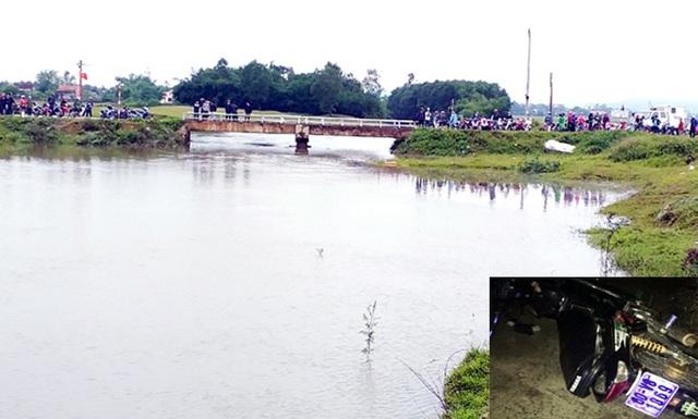Hàng trăm người tìm kiếm nam thanh niên lao xe vào thành cầu rơi xuống sông - 1